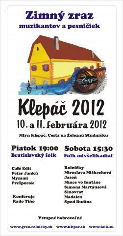 Klepac 2012 plagat