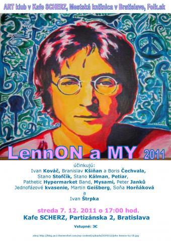 Lennon a my 2011