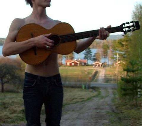 Singer in the park